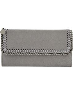 3abc17893817 STELLA MCCARTNEY - Falabella faux-suede continental wallet
