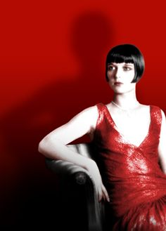 Louise Brooks red