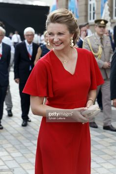 Princess Stephanie of Luxembourg visits Esch-sur-Alzette for National Day on June 22, 2017 in Luxembourg, Luxembourg.