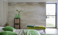Designers Guild Cielo in ecru wallpaper