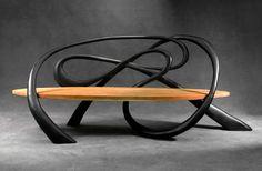 tallixartfoundry hadid Bench 3d model | Zaha Hadid | Sit ...