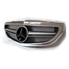Mercedes AMG Style Front Grill Grille with Logo for Mercedes Benz 2014+ E Class W212 Classic Edition e200 e220 e250 e300 e350