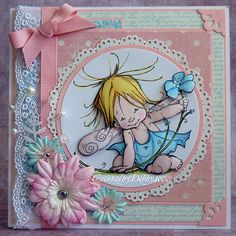 A Scrapjourney: Baby Fairy Flower