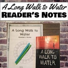 A long Walk To Water by Linda Sue Park: With Lesson Plans ...