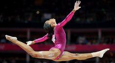 Gabby Douglas of U.S. wins GOLD in all-around gymnastics title Aug 2012