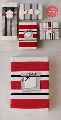 Sugestões elegantes para os seus presentes.