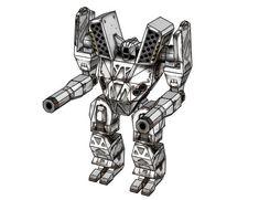 MechWarrior 4 - Mauler Free Assault Mech Paper Model Download
