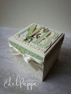Explosionsbox zur Hochzeit & Anleitung für die Torte