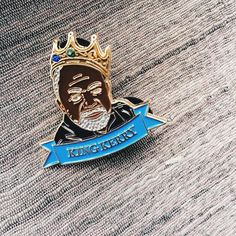 #Repost @stephaniegraham  I dont know about you but I love Kerry James Marshall.  I havent heard of anyone who doesnt honestly though Im sure your our there but we know what to cal them right HATERS  Anyway please welcome my new pin to the Graham Cracker Pin Co. Family  King Kerry. Kerry James Marshall inspires me to move as I want with the work I create. Looking at his work and hearing him speak I have gathered these three rules.  1. Know the history of your culture.  2. Master being bold…