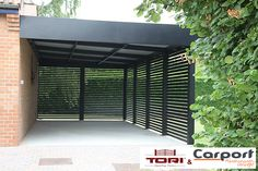Carport Aluminium Sur mesure. www.toriportails.be                                                                                                                                                                                 More