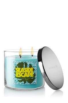 Seaside Escape 14.5 oz. 3-Wick Candle - Slatkin & Co. - Bath & Body Works