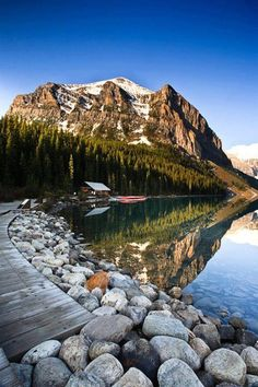 lake louise, banff. think a spontaneous trip is necessary soon!