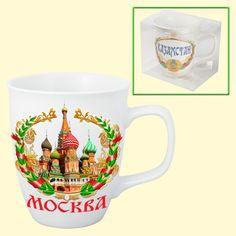 "SHOP-PARADISE.COM Tasse ""Москва"", 0,4 l 3,35 € http://shop-paradise.com/de/tasse-moskva-04-l"