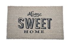 Cute HOME SWEET HOME 50s Fussmatte / TÜRMATTE Rockabilly