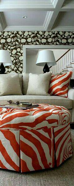 Orange Home Decor, Orange House, Charlotte, Bed, Furniture, Stream Bed, Home Furnishings, Beds, Bedding