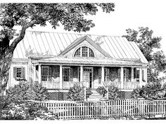 Eplans Southern House Plan - The Shoals from The Southern Living