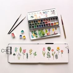 watercolor ideas creative being tusche wasserfarben lebe dich selbst lebe d watercolor ideas creativ Watercolour Painting, Painting & Drawing, Watercolor Ideas, Watercolor Water, Flower Watercolor, Plants Watercolor, Watercolor Artists, Watercolor Sketchbook, Painting Inspiration