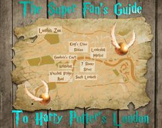 Your very own Marauder's Map. For fans of the books, and of the films.