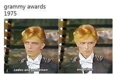 David bowie wasn't a joke, we can't make memes of him Def Leppard, Funny Memes, Hilarious, Funny Videos, Oui Oui, Faith In Humanity, Music Stuff, Metallica, The Beatles
