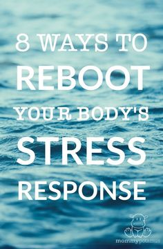 """Do you ever read advice that says """"Learn to let the stress go"""" and just feel MORE stressed because you have no idea how to do that?  Here are eight ways to manually reboot your stress response when you feel stuck."""