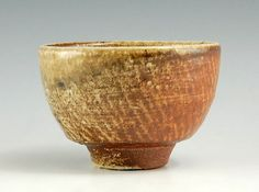Tatsuzo Shimaoka Ceramic Jomon Inlaid Chawan teabowl