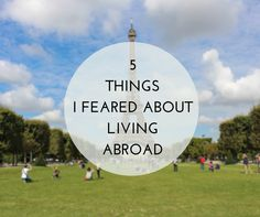 There were 5 things I feared most about living abroad Money, Friends, Accommodation, Safety and being Home Sick. Here's how I dealt with them. Sick, Journey, London, Thoughts, 5 Things, Travel, Outdoor, Posts, Outdoors