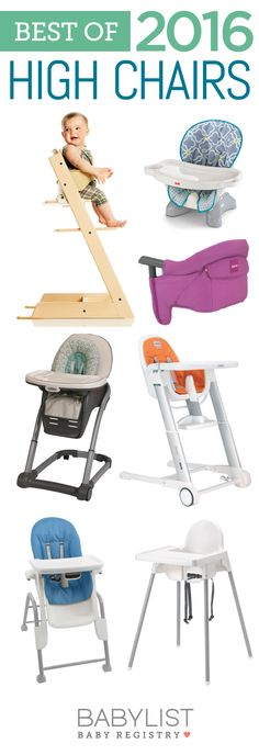 Need some high chair advice to help you pick out the best one? Here are the 7 best high chairs of 2016 - based on our own research + input from thousands of parents. There's no one must-have high chair. Every family is different. Use this guide to help you figure out the best high chair for your family's needs and priorities.