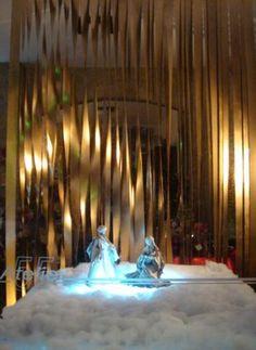 Christmas Shop-Window for Atelier 55, Lisbon - Portugal - 2007/2008  Work with Ricardo Moreno Arquitectos Office