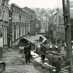 Drooggepompte Raam Gouda (1960)