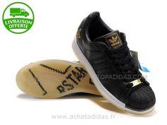 Femme Adidas Originals Superstar Noir/Blanc