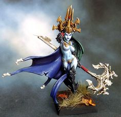 Raging Heroes: Dark Elf Sorceress