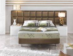 cabeceros tapizados modelo gijon ld dorado