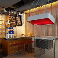 bar cafe restaurant dj area