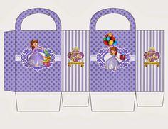 6ca9c13c8 Espectacular kit para imprimir gratis con temática de Princesita Sofía.  Entre otros modelos podrás observar que podrás armar portacupcakes de princesa  Sofía ...