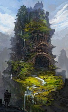 Soothern, por ser onde os maiores bruxos vivem e também o lar do primeiro filho da deusa da natureza é considerado a capital de Sícon, o país nortenho. Estrutura externa feita de árvores pelo próprio druida para proteção, servindo como uma espécie de escudo vivo.