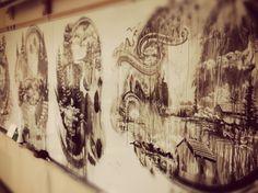 Sweet whiteboard art.