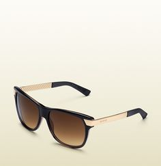 Gucci - 80's inspired rectangular sunglasses 326120J07702033