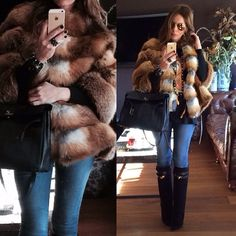 Hermes kelly bag & Givenchy boots