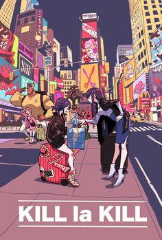 Kill La Kill, Anime Ai, Fanarts Anime, Manga Anime, 19 Days Characters, Anime Characters, Fan Art, Mode Cyberpunk, Lagann Gurren