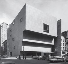 Whitney Museum of American Art, New York, New York, USA, 1966 by Marcel Breuer and Associates. From This Brutal World