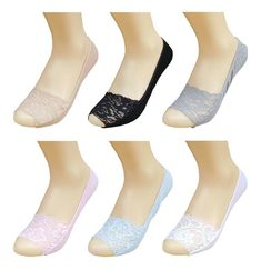 BLUE REEF Mens Ladies Invisible Secret Socks Absorbent Cotton Blend White /& Tan