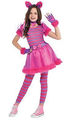 Girls Cheshire Cat Costume