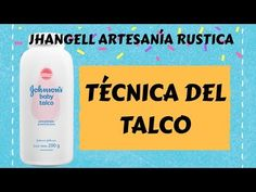 TECNICA DEL TALCO - YouTube Decoupage Vintage, Pasta Flexible, Craft Materials, Stencils, Diy And Crafts, Lettering, Make It Yourself, Crafty, Youtube