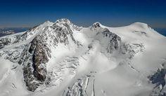 Nordend, Dufourspitze, Zumsteinspitze und Signalkuppe