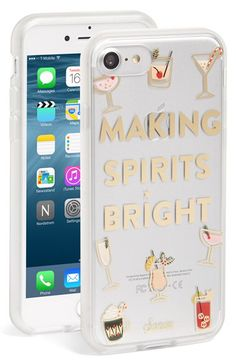 Sonix Sonix Making Spirits Bright iPhone Case (7 & 7 Plus) available at #Nordstrom