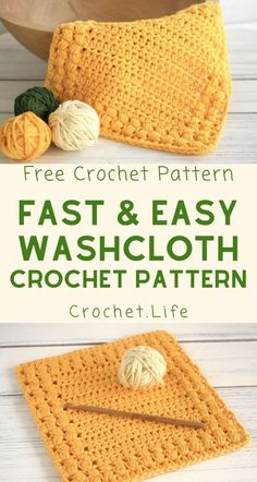 If you need a beginner crochet project, this tutorial for how to make a crochet washcloth and the free pattern, well, it's perfect! #MakingClothesFromOldClothes Beginner Crochet Projects, Crochet For Beginners, Beginner Crochet Patterns, Beginner Crochet Tutorial, Knitting Patterns, Quick Crochet, Free Crochet, Loom Crochet, Crochet Mandala