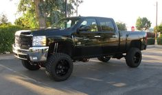 Check out our whole collection of Chevy Silverado and GMC Sierra 1500 lift kits! Jacked Up Chevy, Lifted Chevy Trucks, Chevrolet Trucks, Gmc Trucks, Silverado Lift Kit, 2014 Chevrolet Silverado 1500, Silverado Truck, Sierra Truck, Black Truck