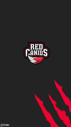Wallpaper Red Canids, League of legends team