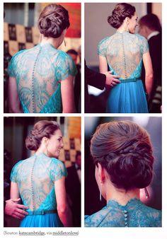 Kate Middleton robe turquoise