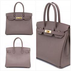 4d03e3384711 Hermes Birkin Etain   CC8F Epsom 30 Tote Bag Ghw - See details  amp  price